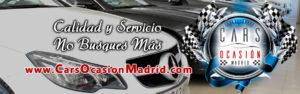 Concesionario coches ocasion Madrid