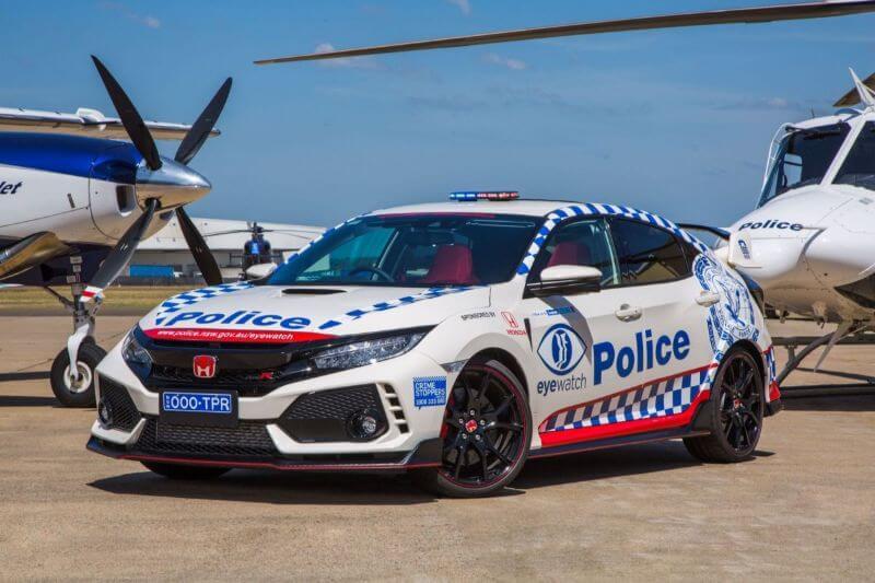 Honda Civic Type R Coche de policía Autrialana