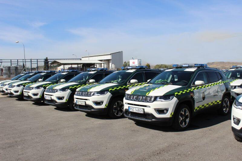 Coches de policía de España - Jeep Compass